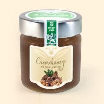 Cremhonig mit Kakao und Nüssen